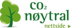 CO2 nøytral nettside